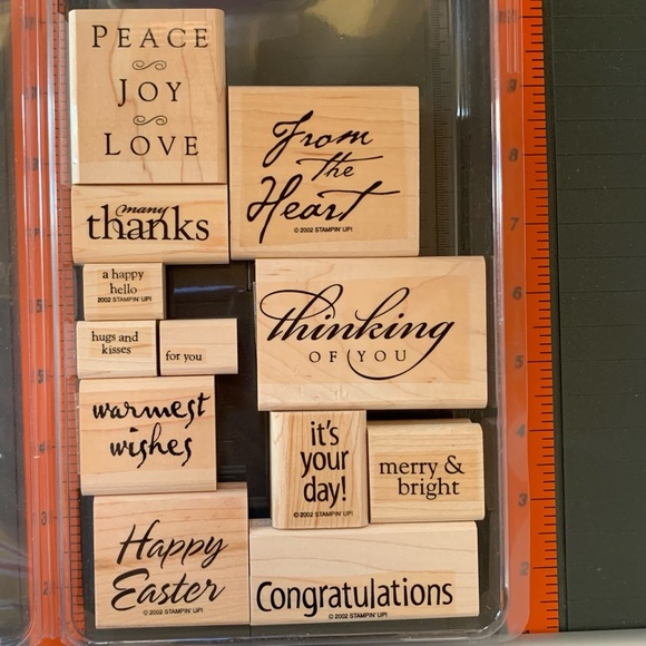Stampin' Up ALL YEAR CHEER I